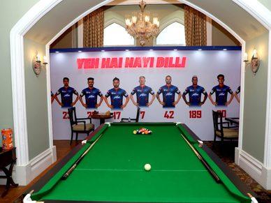 A glance at DC's Team Room   IPL 2021
