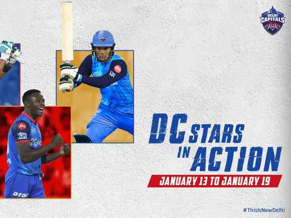 Over 10 DC Stars Set for Action Across Five Major Competitions This Week!