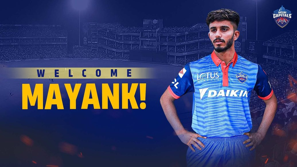 Leg Spinner Mayank Markande joins Delhi Capitals in a swap deal with Mumbai Indians