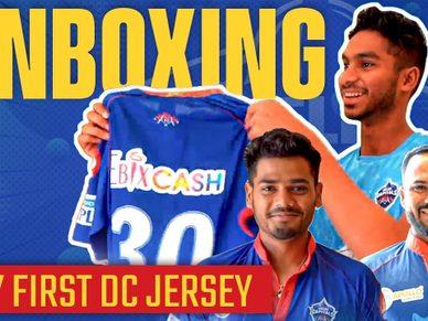 Delhi Capitals x Wrogn Active | Unboxing My First DC Jersey