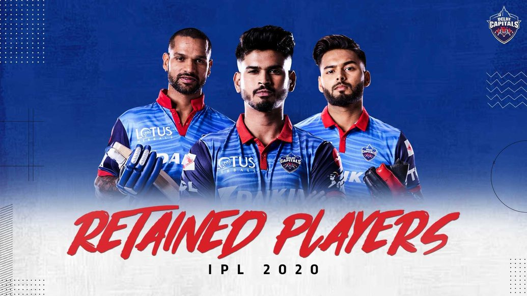 Delhi Capitals reveal list of retained players ahead of VIVO IPL 2020 Auction