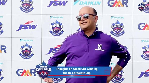MD, Amex GBT on the DC Corporate Cup and IPL 2020
