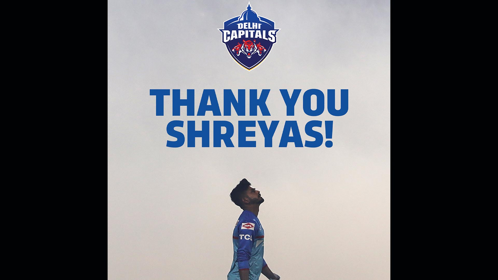 Thank You Shreyas Iyer