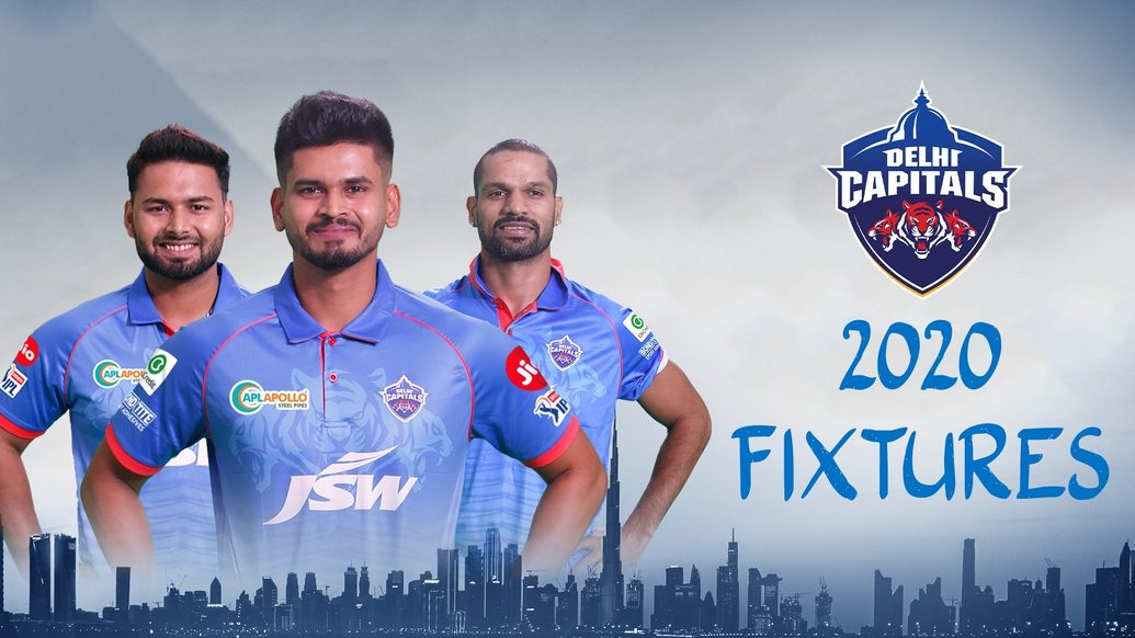 IPL 2020 Fixtures Announced; Delhi Capitals Face KXIP In Their First Game