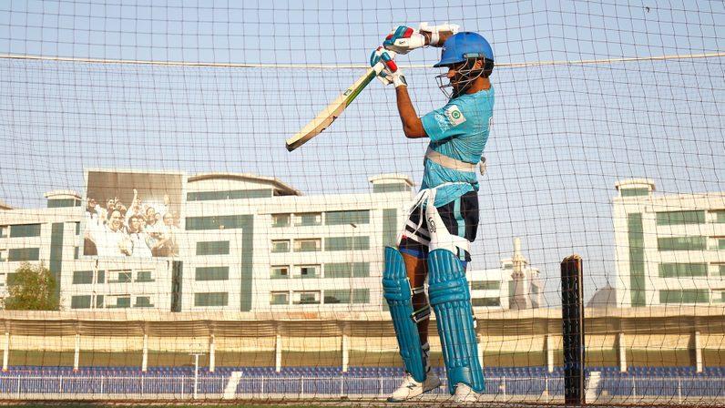 Training Session - Sharjah Cricket Stadium, UAE