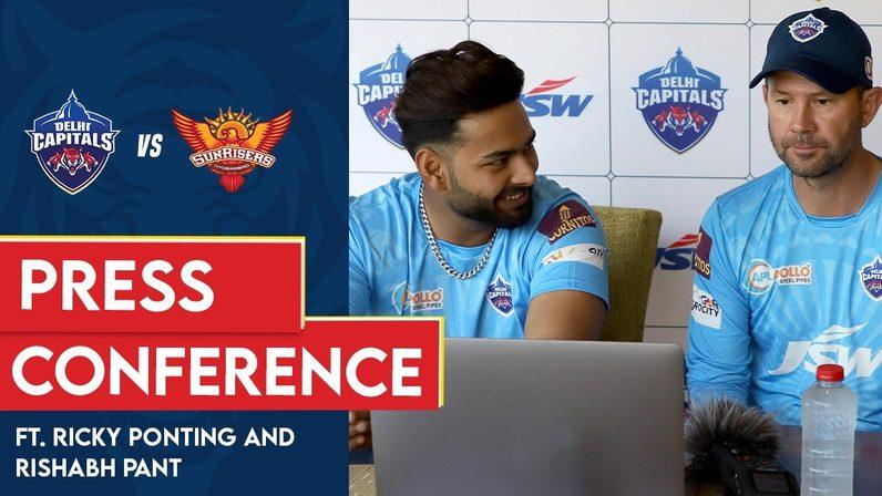 DC v SRH | Virtual Press Conference | Ricky Ponting & Rishabh Pant | IPL 2021