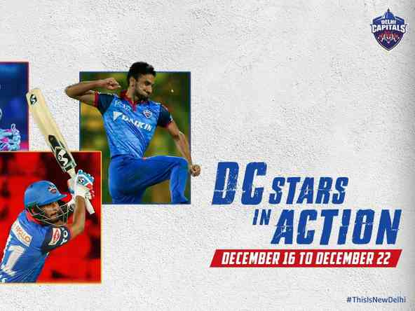 West Indies ODIs, Ranji Trophy Round II Take Center Stage for DC Stars from December 16-22!