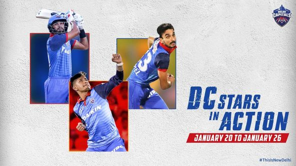 India's Tour of New Zealand, Ranji Trophy Round 6 Dominate DC Stars' Schedule This Week!